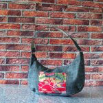 Ines red bag_silk_vintage_japonese